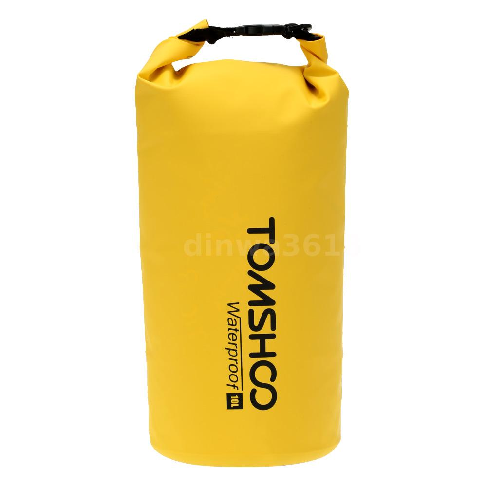 Waterproof Dry Bag Moxiefitt yellow  fully waterproof to protect all items.